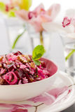 Salada das beterrabas Imagens de Stock