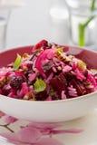Salada das beterrabas Fotos de Stock Royalty Free