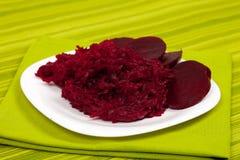 Salada das beterrabas Imagem de Stock Royalty Free