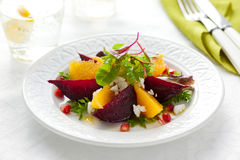 Salada das beterrabas Fotografia de Stock