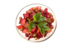 Salada das beterrabas Imagens de Stock Royalty Free