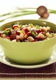 Salada das beterrabas com vertical dos arenques Imagem de Stock Royalty Free
