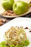 Salada das maçãs verdes Imagens de Stock