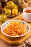 Salada das medusa fotografia de stock royalty free