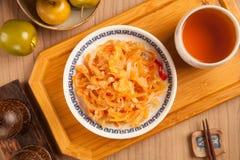 Salada das medusa foto de stock