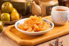 Salada das medusas fotografia de stock