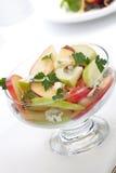 Salada de Apple do Pecan do queijo azul Fotografia de Stock