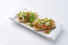 Salada de atum Fotografia de Stock Royalty Free