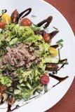 Salada de atum com tomates de cereja 8 Fotos de Stock