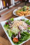 Salada de atum picante Imagens de Stock Royalty Free
