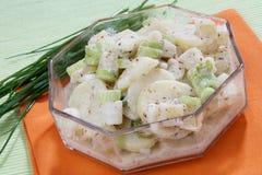 Salada de batata fotos de stock