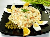 Salada de batata Foto de Stock Royalty Free