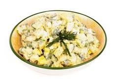 Salada de batata Fotos de Stock Royalty Free
