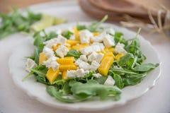 Salada de batata com ovos fotografia de stock