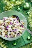 Salada de batata com peixes de atum Foto de Stock