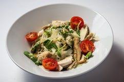 A salada de Caesar com chiken fotografia de stock