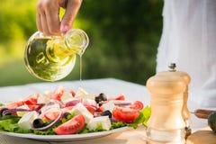 Salada de Caesar fresca Imagens de Stock Royalty Free
