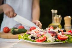 Salada de Caesar fresca Imagens de Stock