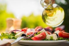 Salada de Caesar fresca Fotos de Stock