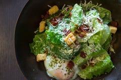 Salada de caesar saudável fotografia de stock royalty free