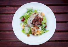 Salada de Caeser Fotografia de Stock Royalty Free