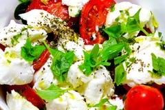 Salada de Caprese Fotografia de Stock