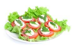 Salada de Caprese Foto de Stock