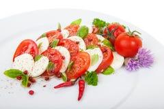 Salada de Caprese Imagem de Stock