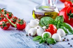 Salada de Caprese fotos de stock royalty free