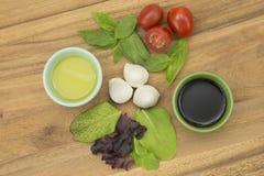 Salada de Caprese fotos de stock