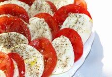 Salada de Capri Imagem de Stock Royalty Free