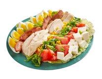 Salada de Cobb fotos de stock royalty free