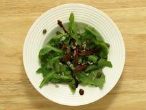 Salada de foguete selvagem Fotografia de Stock Royalty Free