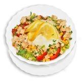 Salada de frango foto de stock royalty free