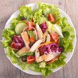 Salada de frango Fotografia de Stock Royalty Free