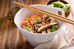 Salada de frango asiática da culinária imagem de stock royalty free