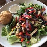 Salada de frango do sudoeste Imagens de Stock