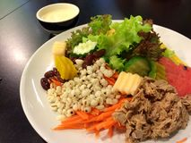 Salada de Friut Fotografia de Stock Royalty Free