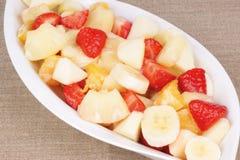Salada de fruta fotografia de stock royalty free