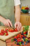 Salada de fruta fotos de stock