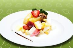 Salada de fruta fresca Foto de Stock