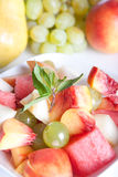 Salada de fruta fresca Fotografia de Stock