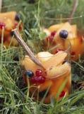Salada de fruta fresca com alcaçuz Fotografia de Stock