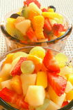 Salada de fruta saboroso Imagem de Stock