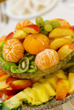 Salada de fruta saboroso Fotografia de Stock Royalty Free