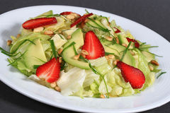 Salada de fruta saudável Imagens de Stock Royalty Free