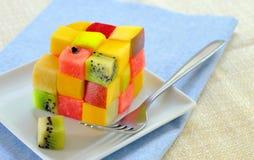 Salada de fruta saudável foto de stock royalty free