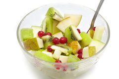 Salada de frutas Fotografia de Stock Royalty Free