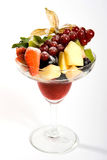 Salada de frutas frescas Imagens de Stock