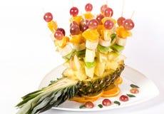 Salada de frutas frescas Fotos de Stock